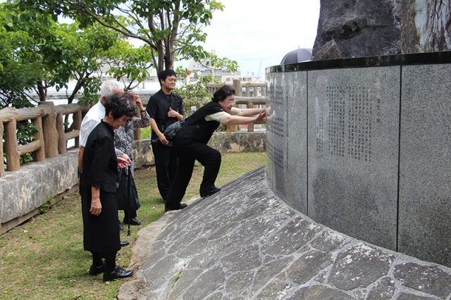 平成30年度二中健児の塔慰霊祭