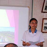 第2期海外ショートステイ・プログラム、帰国報告会