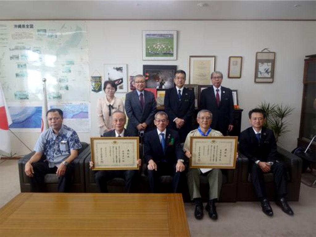城岳同窓会会長・宮里 博史 氏が令和2年度社会教育功労者(文部科学大臣表彰)受賞
