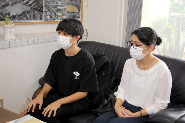 A氏奨学生13期生:中原君から現況報告と将来の夢を語る