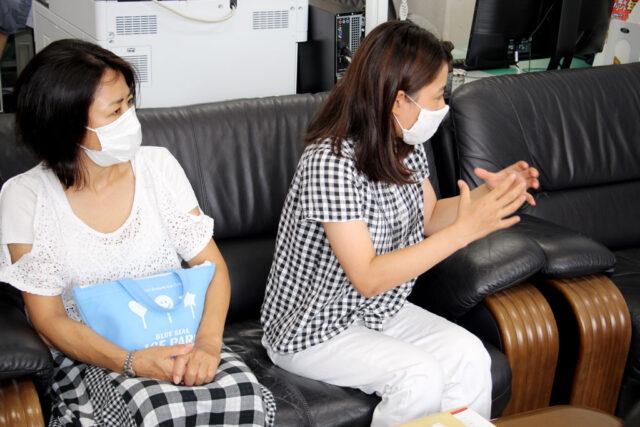 A氏奨学生13期生:金城さんから現況報告と将来の夢を語る